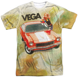 Image for Chevy T-Shirt - Vega Watercolor