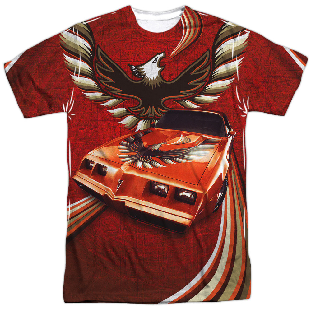 99124614 Hover over image to zoom. Image for Pontiac T-Shirt - Firebird Flames