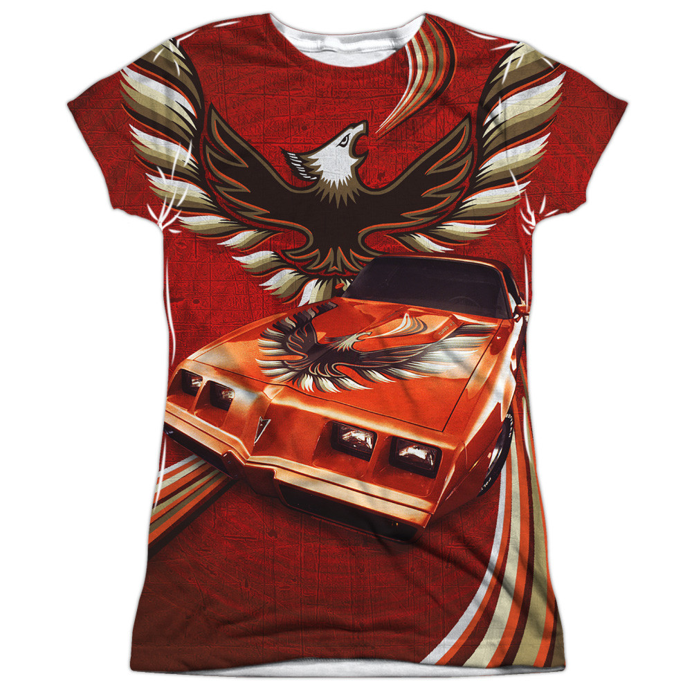 bd9165be Hover over image to zoom. Image for Pontiac Girls T-Shirt - Firebird Flames