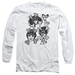 Image for Yeah Yeah Yeahs Long Sleeve Shirt - Fangs and Bones
