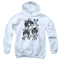 Image for Yeah Yeah Yeahs Youth Hoodie - Fangs and Bones