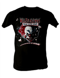 Image Closeup for Killer Klowns from Outer Space T-Shirt