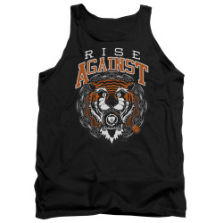 Image for Rise Against Tank Top - Tiger Bomb