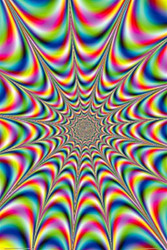 Image for Fractal Illusion Poster