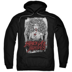 Image for Black Veil Brides Hoodie - Coffin Queen