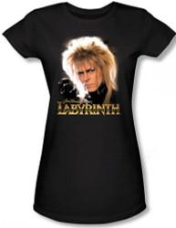 Image for Labyrinth Girls Shirt - Jareth