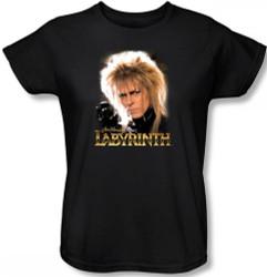 Image for Labyrinth Womens T-Shirt - Jareth