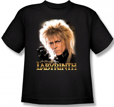 Image for Labyrinth Youth T-Shirt - Jareth