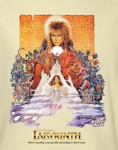 Image for Labyrinth T-Shirt - Movie Poster
