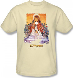 Image Closeup for Labyrinth T-Shirt - Movie Poster