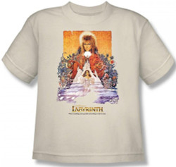 Labyrinth Youth T-Shirt - Movie Poster