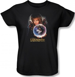 Image for Labyrinth Womens T-Shirt - I Have a Gift