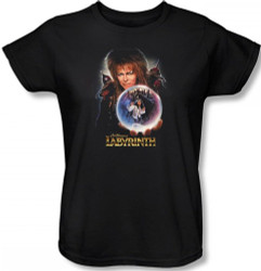 Labyrinth Womens T-Shirt - I Have a Gift