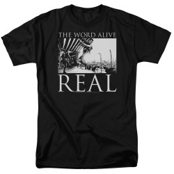 Image for The Word Alive T-Shirt - Live Shot