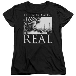 Image for The Word Alive Womans T-Shirt - Live Shot