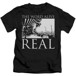 Image for The Word Alive Kids T-Shirt - Live Shot