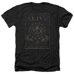 Image for The Word Alive Heather T-Shirt - Show No Mercy