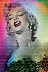 Image for Marilyn Monroe Poster - Words