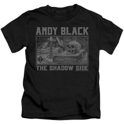Image for Andy Black Kids T-Shirt - The Shadow Side