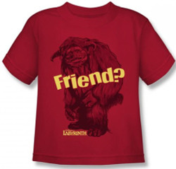 Image for Labyrinth Kids T-Shirt - Ludo Friend