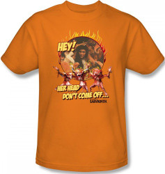 Labyrinth T-Shirt - Hey! Her Head Don't Come Off...
