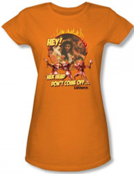 Image for Labyrinth Girls Shirt - Hey! Her Head Don't Come Off...