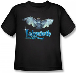 Image for Labyrinth Kids T-Shirt - Title Sequence
