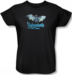 Image for Labyrinth Womens T-Shirt - Title Sequence