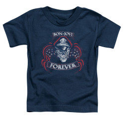 Image for Bon Jovi Toddler T-Shirt - Forever Skull