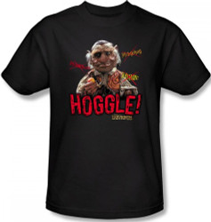 Image Closeup for Labyrinth T-Shirt - Hoggle