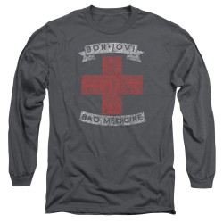 Image for Bon Jovi Long Sleeve Shirt - Bad Medicine