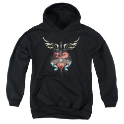 Image for Bon Jovi Youth Hoodie - Daggered
