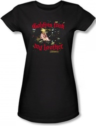 Image for Labyrinth Girls Shirt - Goblins Took My Brother