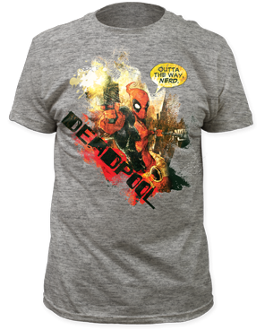 91c1448693f1 Deadpool T-Shirt - Outta the Way Nerd - NerdKungFu