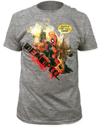 Image for Deadpool T-Shirt - Outta the Way Nerd