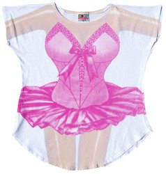Image for Ballerina Cover Up T-Shirt