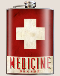 Image for Trixie & Milo Medicine Hip Flask