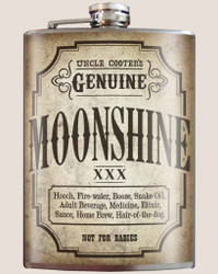 Image for Trixie & Milo Moonshine Hip Flask