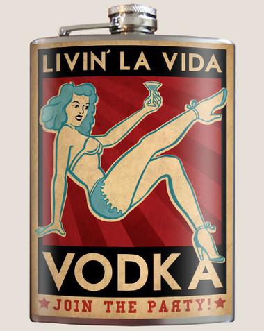 Image for Trixie & Milo Vodka Hip Flask