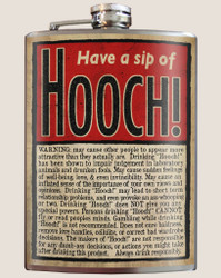 Image for Trixie & Milo Have a Sip of Hooch! Hip Flask