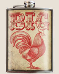 Image for Trixie & Milo Big Rooster Hip Flask