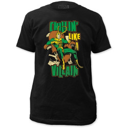 Image for Loki T-Shirt - Chillin' Like a Villain