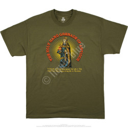 Image for Monty Python - Holy Hand Grenade Green T-Shirt