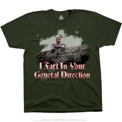 Image for Monty Python - I Fart in Your General Direction Green T-Shirt