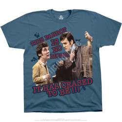Image for Monty Python - Dead Parrot Blue T-Shirt
