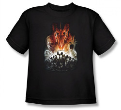 Image for Lord of the Rings Youth T-Shirt -Evil Rising