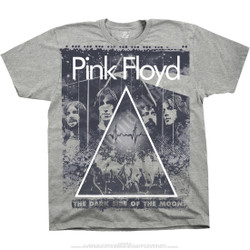 Image for Pink Floyd Pink Floyd Live Heather Grey Poly-Cotton T-Shirt