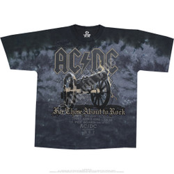 Image for AC/DC - Cannon Tie-Dye T-Shirt