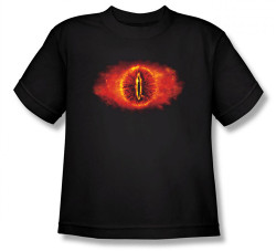 Image for Lord of the Rings Youth T-Shirt -Eye of Sauron