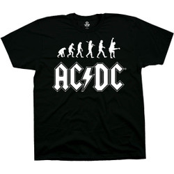 Image for AC/DC - Rock Evolution Black T-Shirt